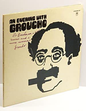 AN EVENING WITH GROUCHO (2 Record Set): Double-Album (LP) Inscribed by Groucho to his nurse
