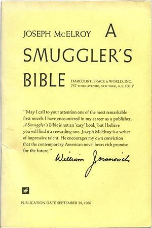 A SMUGGLER'S BIBLE.: McElroy, Joseph.
