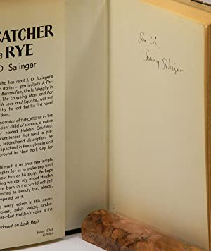 THE CATCHER IN THE RYE; [Inscribed using: Salinger, J. D.