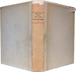 POEMS & BALLADS: First Series.: Swinburne, Algernon Charles.