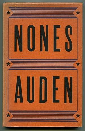 NONES.: Auden, W. H.