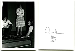 THREE AUTOGRAPH LETTERS SIGNED and Autographed Photographs: Albee, Edward.