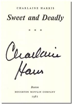 SWEET & DEADLY.: Harris, Charlaine.