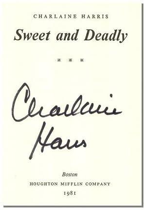 SWEET & DEADLY.: Harris, Charlaine.