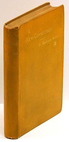 NEW CONNECTICUT: An Autobiographical Poem.: Alcott, A. Bronson.