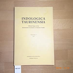 INDOLOGICA TAURINENSIA. Volume V - 1977
