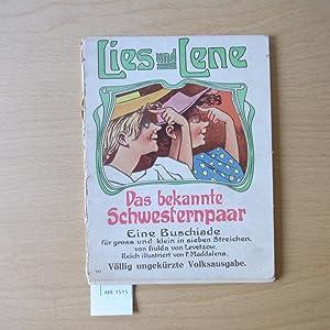 Lies und Lene. Das bekannte Schwesternpaar. Eine: von Levetzow, Hulda