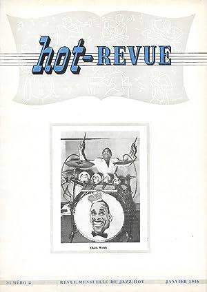 HOT-REVUE. Revue mensuelle de jazz-hot.