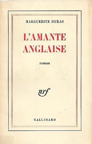 L'amante anglaise.: DURAS (Marguerite).