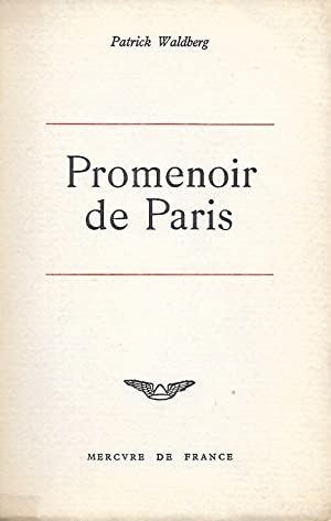 Promenoir de Paris.: WALDBERG (Patrick).