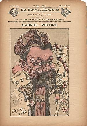 Gabriel Vicaire.: VERLAINE (Paul).