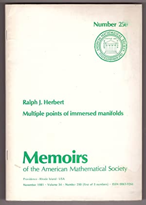 MULTIPLE POINTS OF IMMERSED MANIFOLDS (MEMOIRS OF AMERICAN MATHEMATICAL SOCIETY NO. 250)