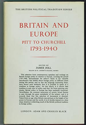 Britain and Europe Pitt to Churchill, 1793-1940