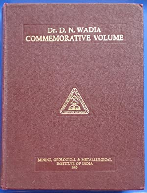 Dr. D.N. Wadia Commemorative Volume: Jhingran, A.G., editor-in-chief