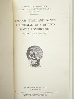 Smithsonian Institution Bureau of American Ethnology Bulletin: Kurath, Gertrude P.