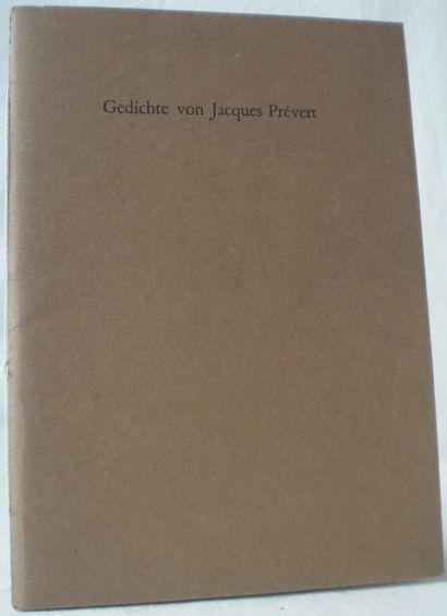 Gedichte Von Jacques Prevert