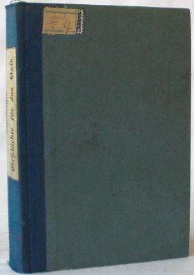 Sammelband mit 3 historischen Titeln: 1. J.: Zahn, J.; Friedrich