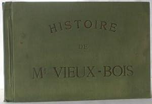 Les amours de Mr. (Monsieur) Vieux-Bois. (Deckeltitel: Toepffer, Rodolphe