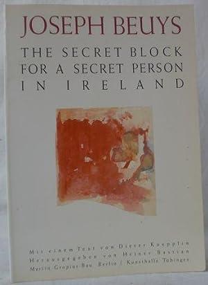 Joseph Beuys - Zeichnungen. The secret block: Beuys, Joseph (Künstler)