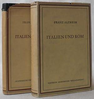 Italien und Rom. Bildteil von E. Trautmann-Nehring.: Altheim, Franz
