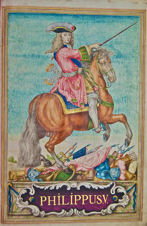 [EJECUTORIA DE NOBLEZA]. Cédula de hidalguía concedida por Felipe V de España ...