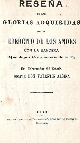Reseña / de las / glorias adquiridas: MARTINEZ, Enrique)