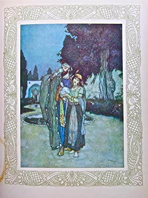 Rubáiyat. Illustrations de Edmond Dulac. (Cette traduction: KHÁYYÁM, Omar:
