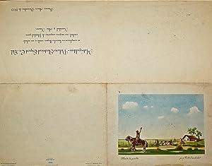 Carta hológrafa dirigida a Martha Sánchez Terrero,: BORGES, Jorge Luis: