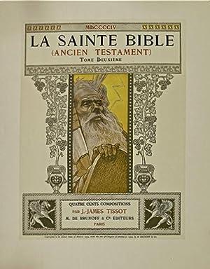 LA SAINTE BIBLE (Ancien Testament). Quatre cents