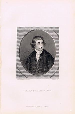 Charles James Fox (Steel Engraving): Junot, Madame Laure, Duchesse D'Abrantes