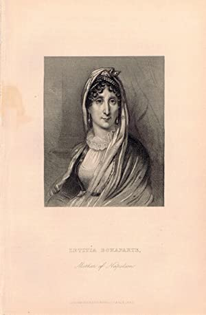 Letitia Bonaparte, Mother of Napoleon (Steel Engraving): Junot, Madame Laure, Duchesse D'Abrantes