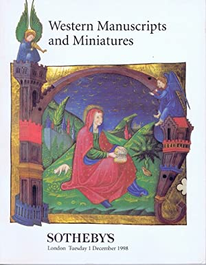Western Manuscripts and Miniatures (December 1, 1998): Sotheby's