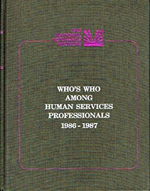 Who's Who Among Human Services Professionals 1986-1957: Franz, Jeffrey