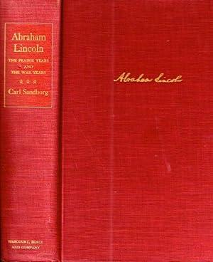 ABRAHAM LINCOLN; The Prairie Years and the: Sandburg, Carl