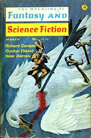 THE MAGAZINE OF FANTASY AND SCIENCE FICTION, VOLUME 50, NO. 3, WHOLE NO. 298, MARCH 1976
