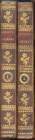The Letters of Junius (Two Volumes, Complete): Junius (pseud); [Sir Philip Francis]