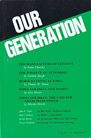 Democratizing Eutopia (in Our Generation, Volume 17, Number 1)