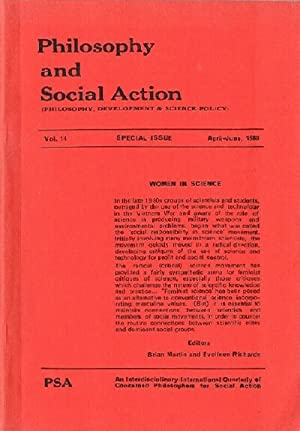 Philosophy and Social Action (Vol. 14, Special Issue, April-June 1988)