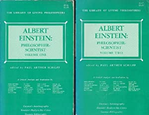 Albert Einstein: Philosopher-Scientist (Complete in Two Volumes)