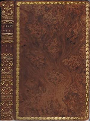 The Poems of Ossian (Two Volumes-Complete): MacPherson, James, Esq.