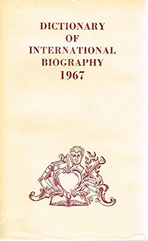 Dictionary of International Biography: Kay, Ernest (editor)