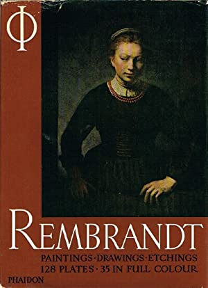rembrandt with fifty plates in full colour