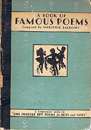 A Book of Famous Poems for Older: Barrows, Marjorie (ed)