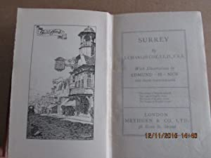 Surrey with Illustrations By Edmund H New [ 1910 Secind Edition ]