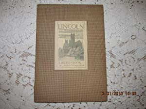 Lincoln a sketch-Book [ 1st Complete Edition with Pictures and Text 1934 ]