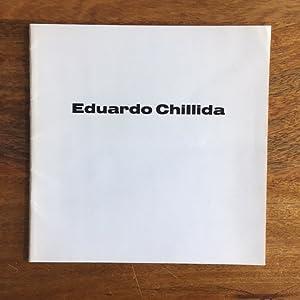 Eduardo Chillida: Chillida, Eduardo ;Ton Berends ; R. Oxenaar (text)