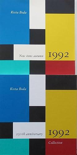 Edition 1992 : Kosta Boda's 250th anniversary: Kosta Boda AB