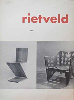 Rietveld: Rietveld, Gerrit Thomas ; Stedelijk Museum