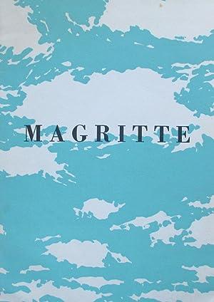 RenŽ Magritte: Magritte, RenŽ; ƒdouard L T Mesens
