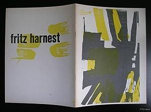 Fritz Harnest houtsneden en collages: Fritz Harnest